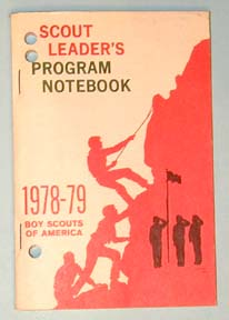 1978-79 Scout Leaders Notebook