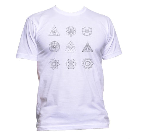 AppleWormDesign • Geometric Shapes gift - Men's T-Shirt •