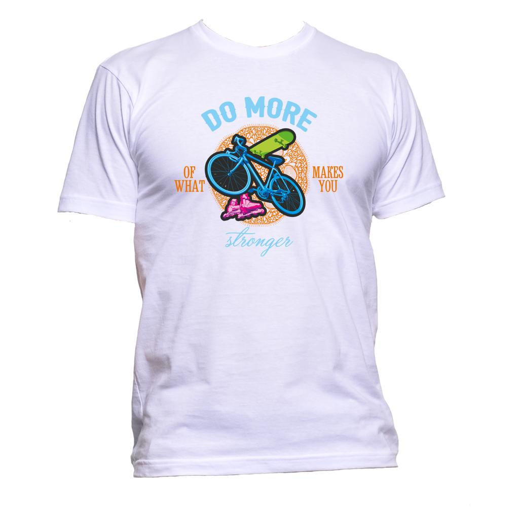 AppleWormDesign • Do More Of What Makes You Stronger Sports gift - Men's T-Shirt •