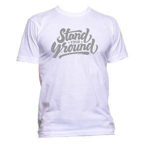 AppleWormDesign • Stand Your Ground gift - Men's T-Shirt •