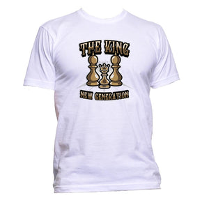 AppleWormDesign • The King New Generation Chess gift - Men's T-Shirt •