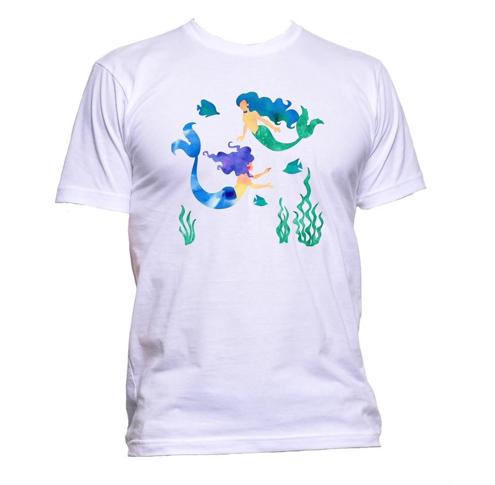 AppleWormDesign • Mermaids In The Sea gift - Men's T-Shirt •