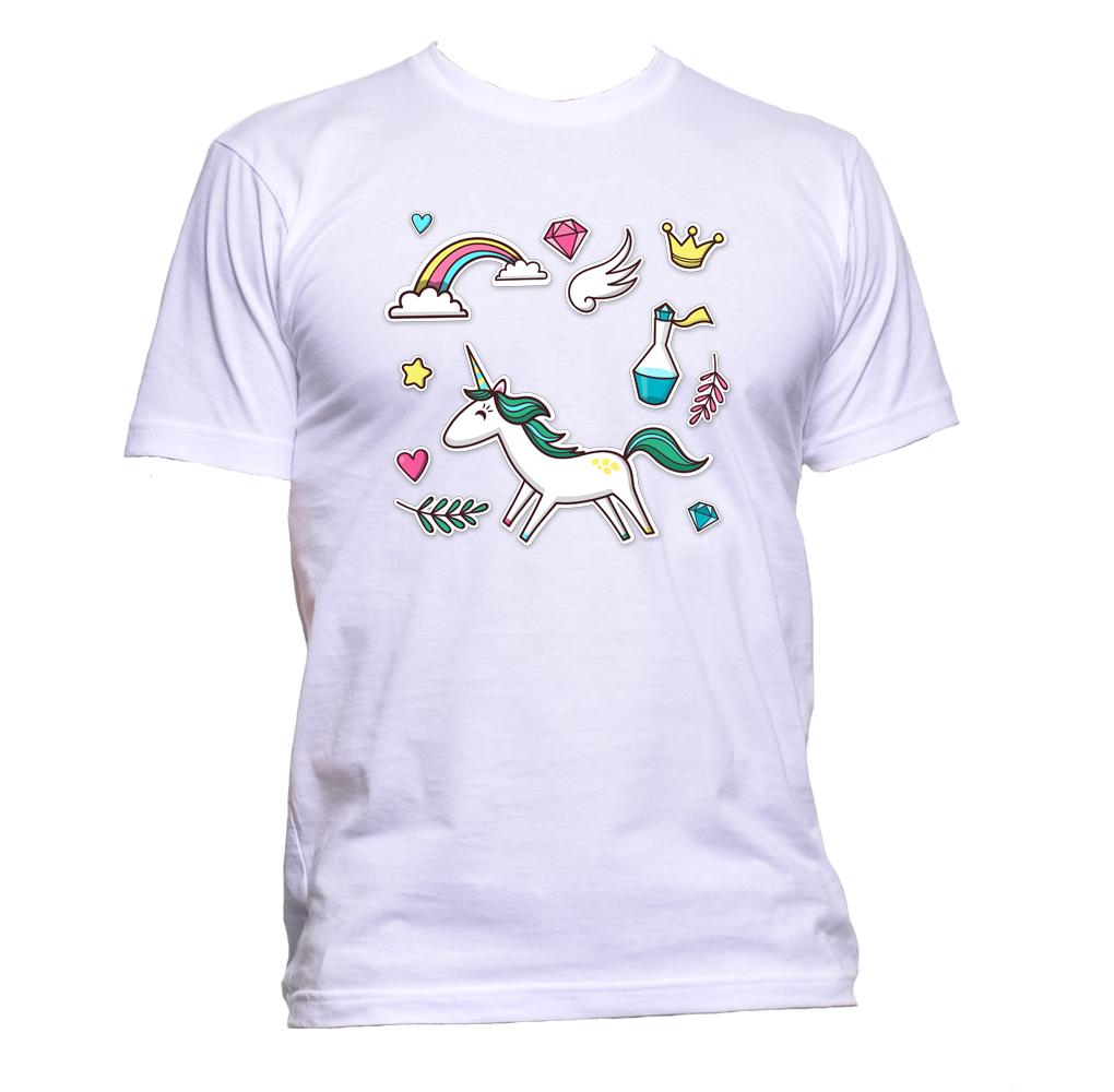 AppleWormDesign • Cute Unicorn Collection gift - Men's T-Shirt •
