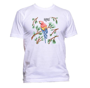 AppleWormDesign • Watercolour Parrot gift - Men's T-Shirt •