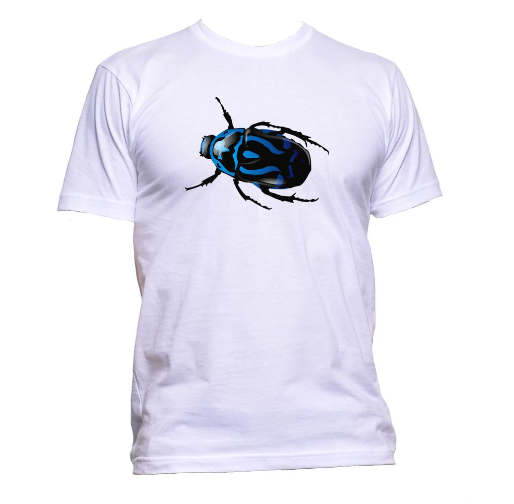 AppleWormDesign • Realistic Bug gift - Men's T-Shirt •