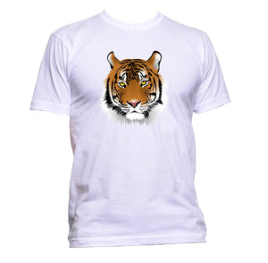 AppleWormDesign • Tiger Head Drawing gift - Men's T-Shirt •