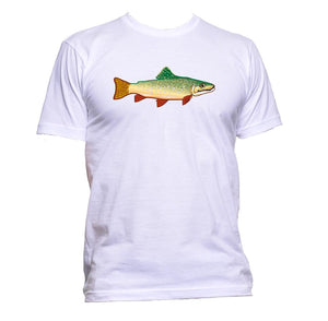 AppleWormDesign • Trout Fish gift - Men's T-Shirt •