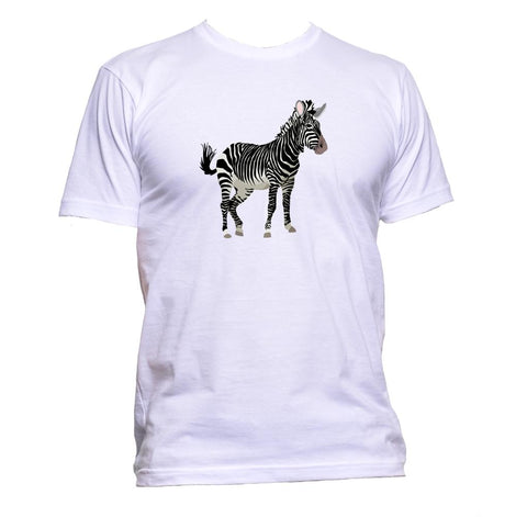 AppleWormDesign • Zebra gift - Men's T-Shirt •