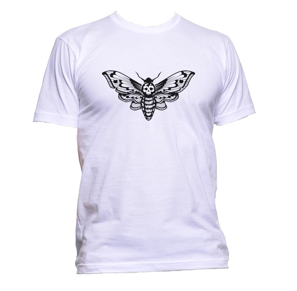 AppleWormDesign • Skull Butterfly gift - Men's T-Shirt •