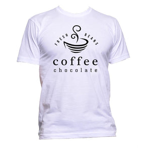 AppleWormDesign • Fresh Beans Coffee gift - Men's T-Shirt •