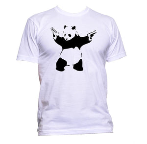 AppleWormDesign • Banksy Panda gift - Men's T-Shirt •