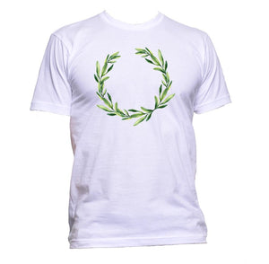 AppleWormDesign • Leaf Crown Peace gift - Men's T-Shirt •