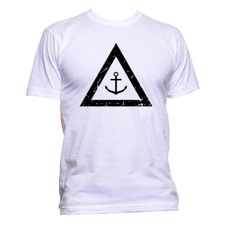 AppleWormDesign • Anchor In Triangle gift - Men's T-Shirt •
