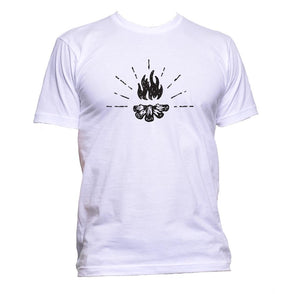 AppleWormDesign • Campfire gift - Men's T-Shirt •