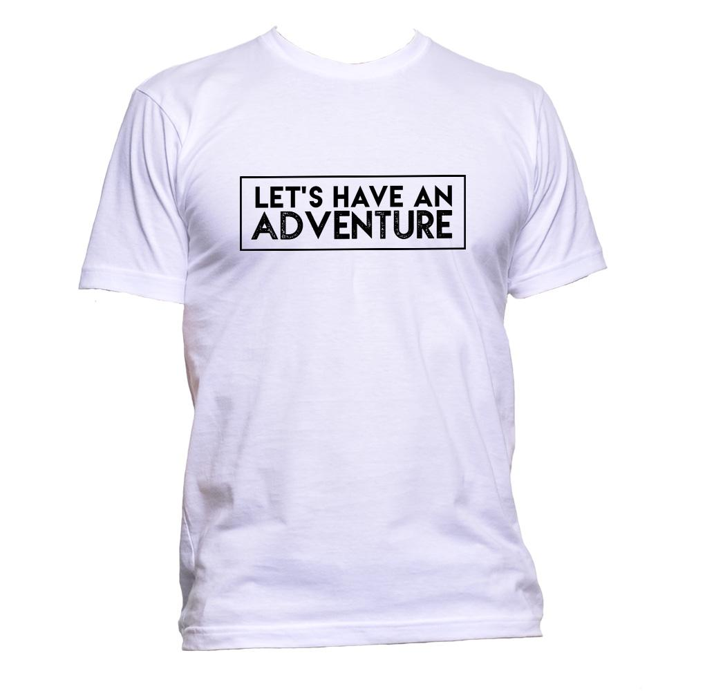 AppleWormDesign • Let's Have An Adventure gift - Men's T-Shirt •