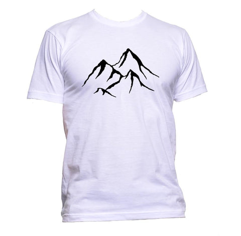 AppleWormDesign • Mountains gift - Men's T-Shirt •