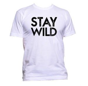 AppleWormDesign • Stay Wild gift - Men's T-Shirt •