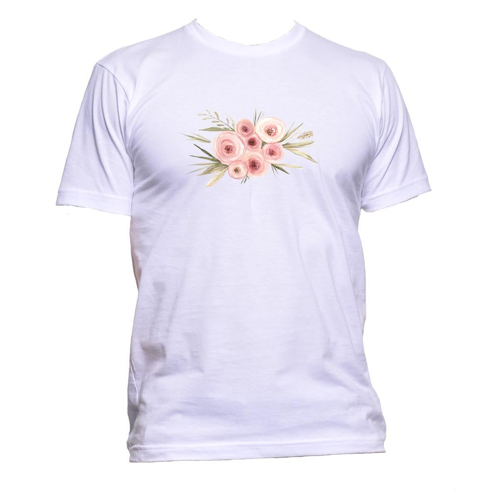 AppleWormDesign • Flower Bunch gift - Men's T-Shirt •