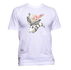 AppleWormDesign • Cute Skunk gift - Men's T-Shirt •