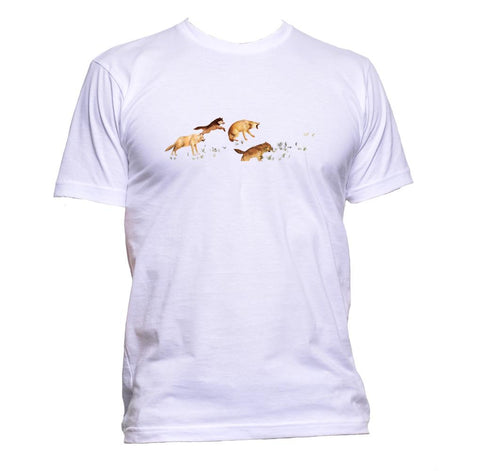 AppleWormDesign • Wolfpack gift - Men's T-Shirt •