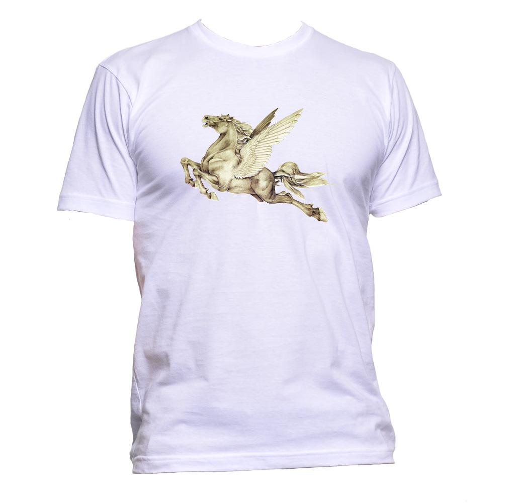 AppleWormDesign • Flying Pegasus gift - Men's T-Shirt •