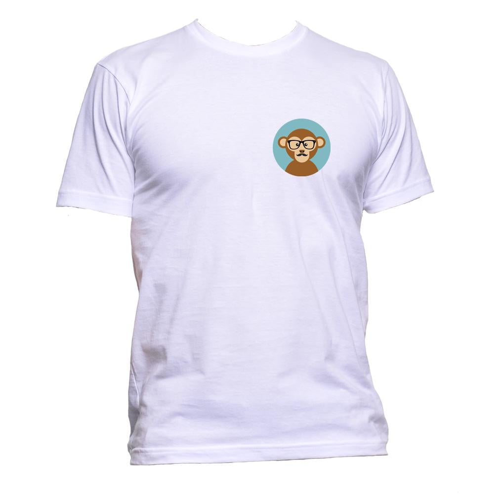 AppleWormDesign • Monkey Pocket gift - Men's T-Shirt •