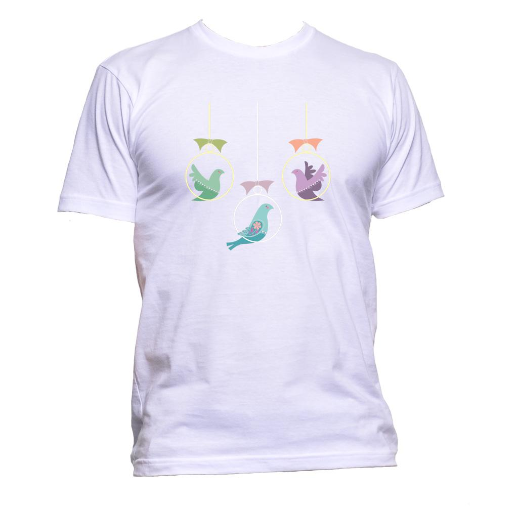 AppleWormDesign • Swinging Birds gift - Men's T-Shirt •