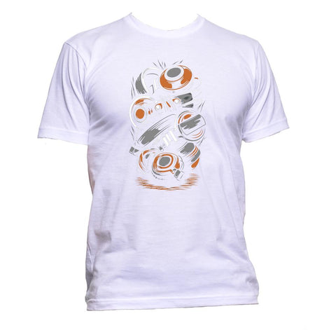 AppleWormDesign • Twisted Headphones gift - Men's T-Shirt •