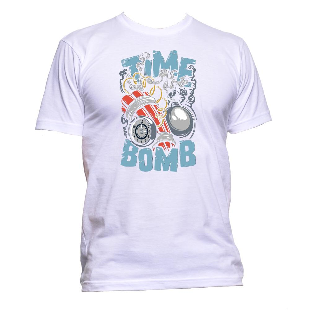 AppleWormDesign • Time Bomb gift - Men's T-Shirt •
