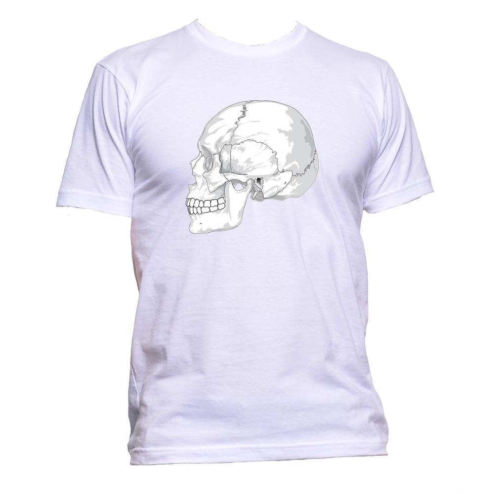 AppleWormDesign • Skull gift - Men's T-Shirt •
