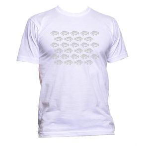 AppleWormDesign • Herd Of Fish gift - Men's T-Shirt •