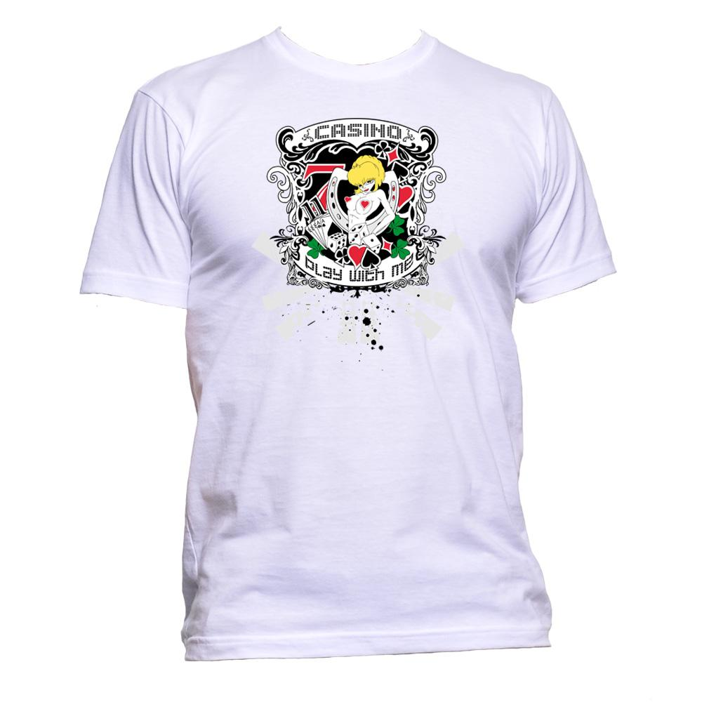 AppleWormDesign • Casino Play With Me gift - Men's T-Shirt •