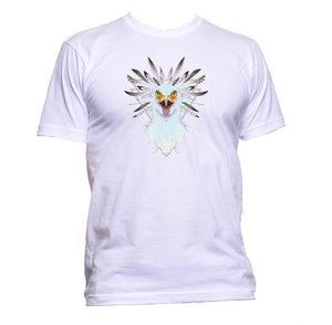 AppleWormDesign • White Eagle Head gift - Men's T-Shirt •