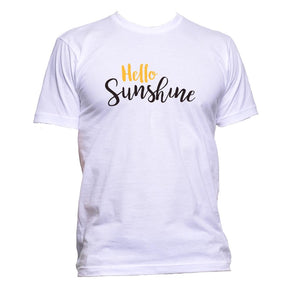AppleWormDesign • Hello Sunshine Slogan gift - Men's T-Shirt •