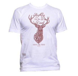AppleWormDesign • Anything For You My Deer gift - Men's T-Shirt •