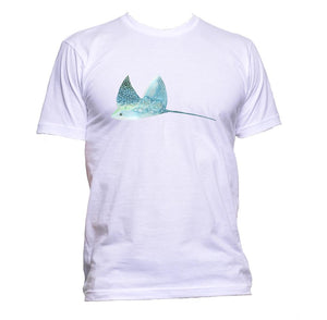 AppleWormDesign • Turbot Fish Stingray gift - Men's T-Shirt •