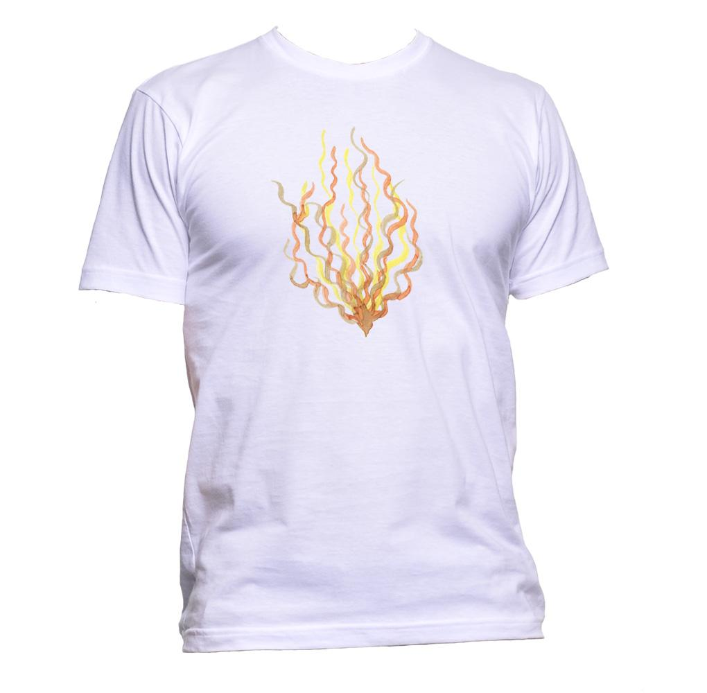AppleWormDesign • Yellow Seaweed gift - Men's T-Shirt •