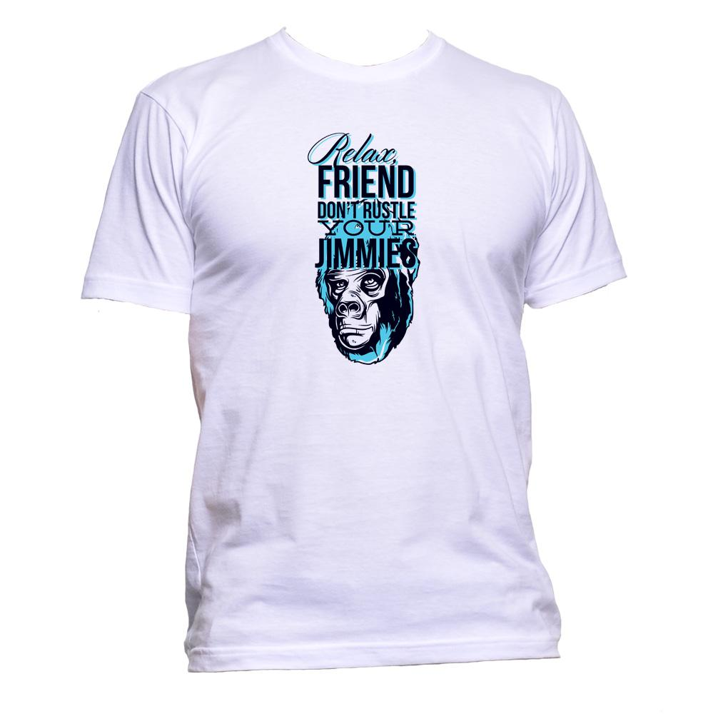 AppleWormDesign • Relax, Friend Don't Rustle Your Jimmies gift - Men's T-Shirt •
