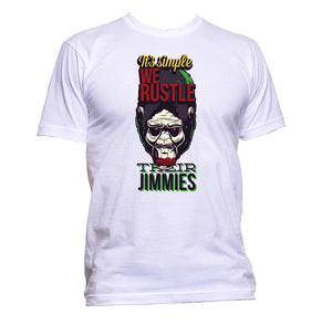 AppleWormDesign • It's Simple We Rustle Their Jimmies gift - Men's T-Shirt •