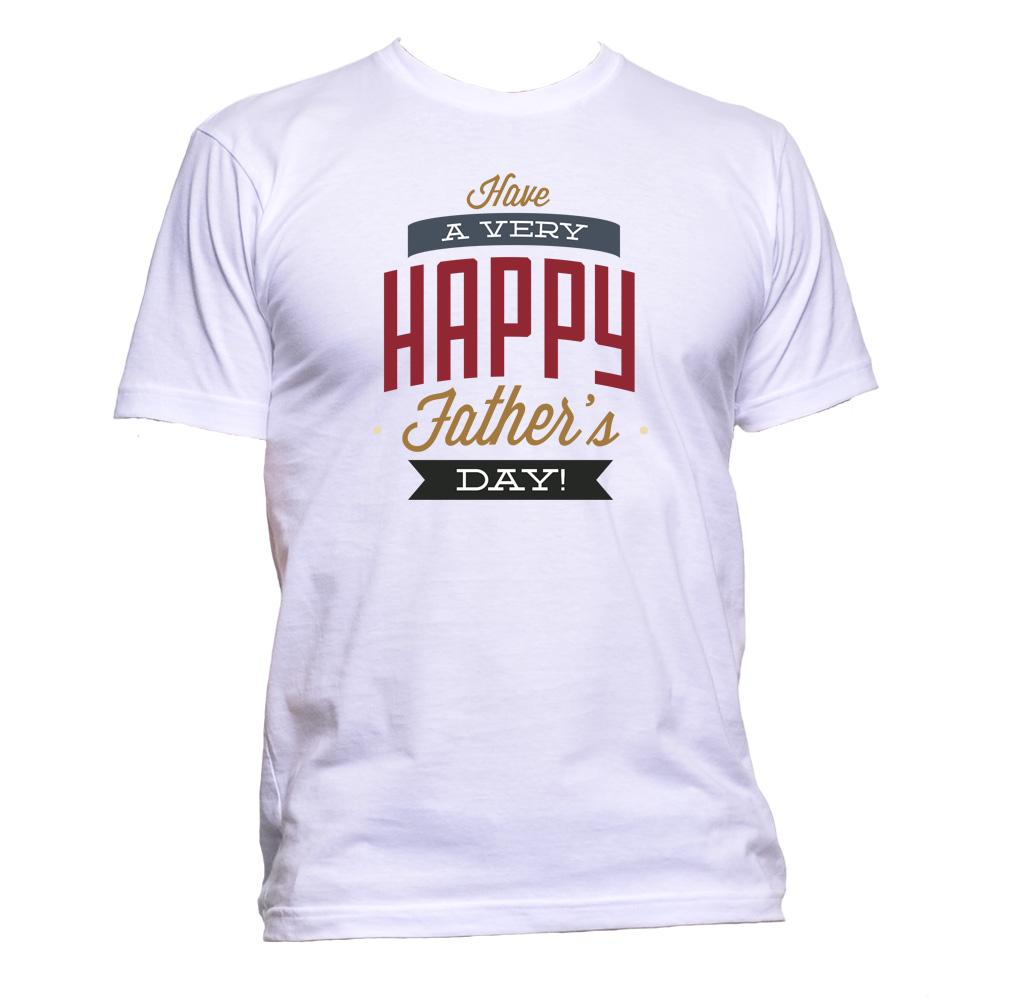 AppleWormDesign • Father's Day Have Very A Happy gift - Men's T-Shirt •