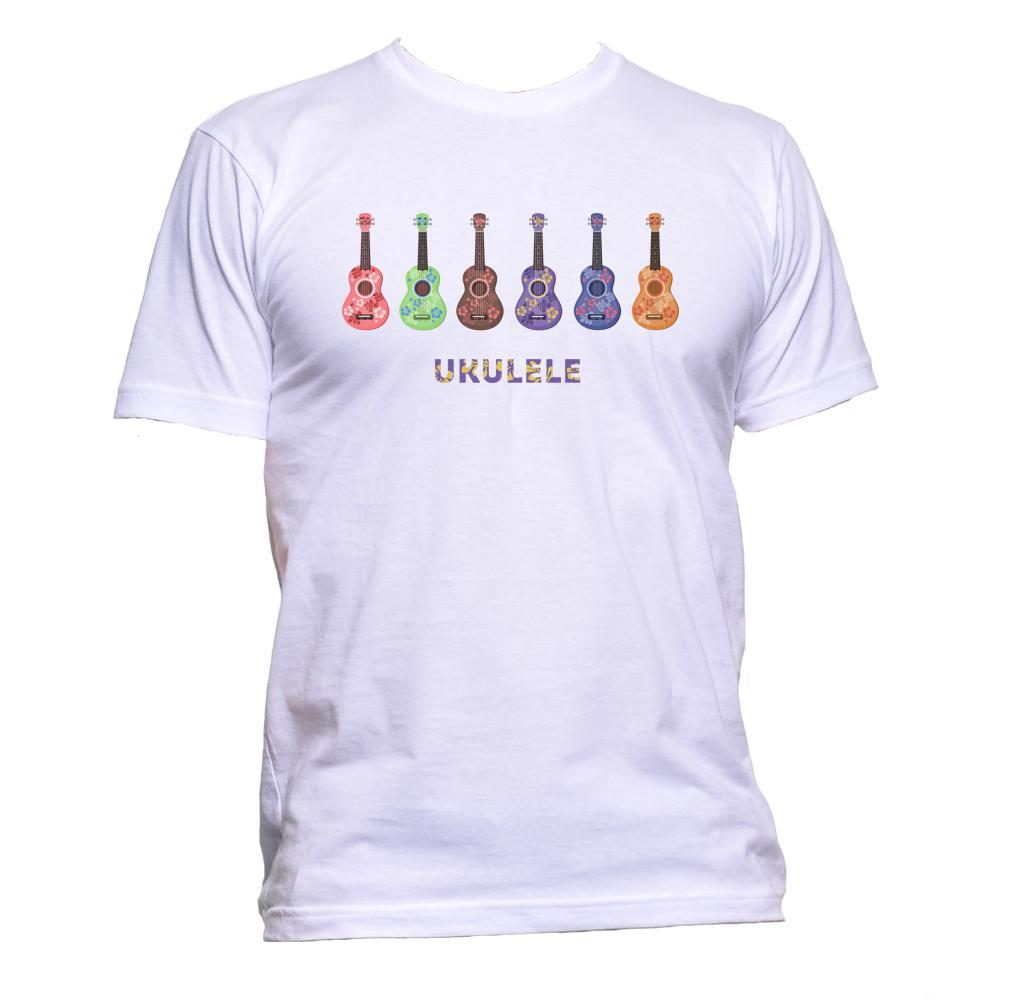 AppleWormDesign • Ukulele Guitar gift - Men's T-Shirt •