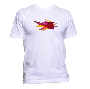 AppleWormDesign • Geometric Fire Diamond gift - Men's T-Shirt •