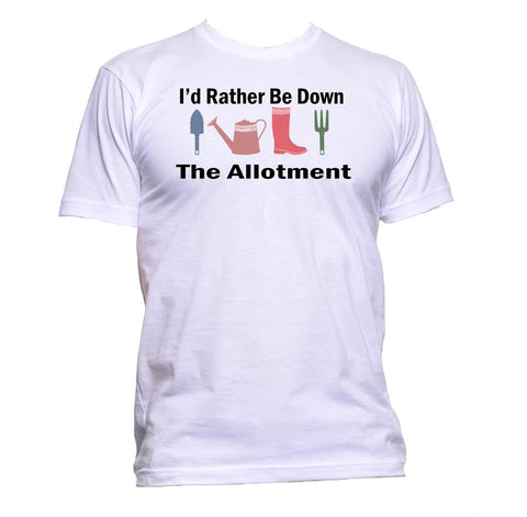AppleWormDesign • I'd Rather Be Down The Allotment gift - Men's T-Shirt •