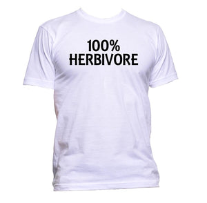 AppleWormDesign • 100% Herbivore gift - Men's T-Shirt •