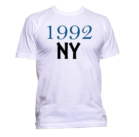AppleWormDesign • 1992 NY New York gift - Men's T-Shirt •