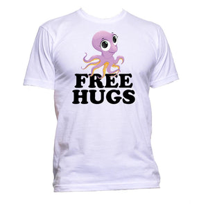 AppleWormDesign • Free Hugs With Octopus gift - Men's T-Shirt •