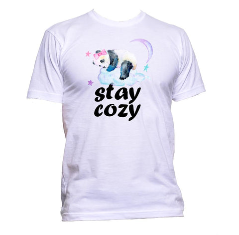 AppleWormDesign • Stay Cozy With Sleeping Panda gift - Men's T-Shirt •