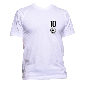 AppleWormDesign • 10 Football Soccer Ball Fan Pocket gift - Men's T-Shirt •