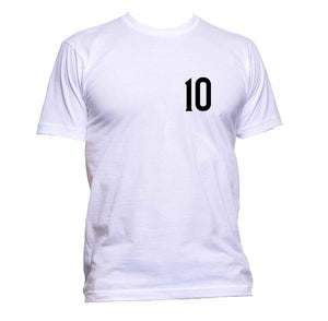 AppleWormDesign • 10 Football Soccer Fan Pocket gift - Men's T-Shirt •