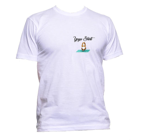 AppleWormDesign • Yoga Shirt With Guinea Pig Pocket gift - Men's T-Shirt •